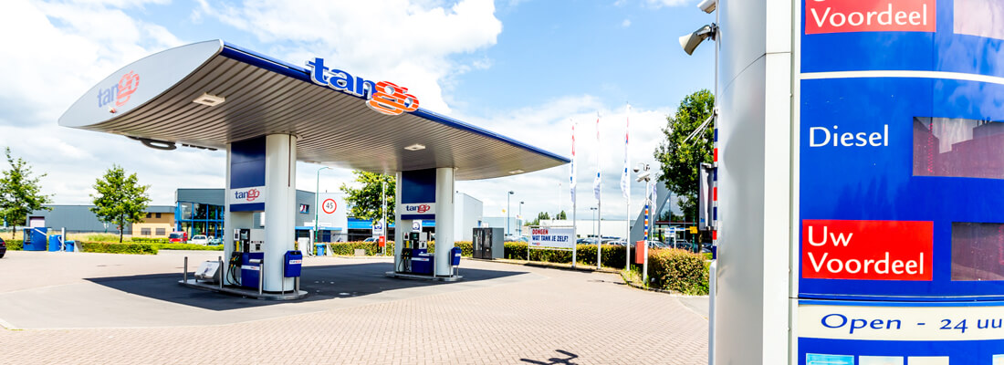 Tango benzine station